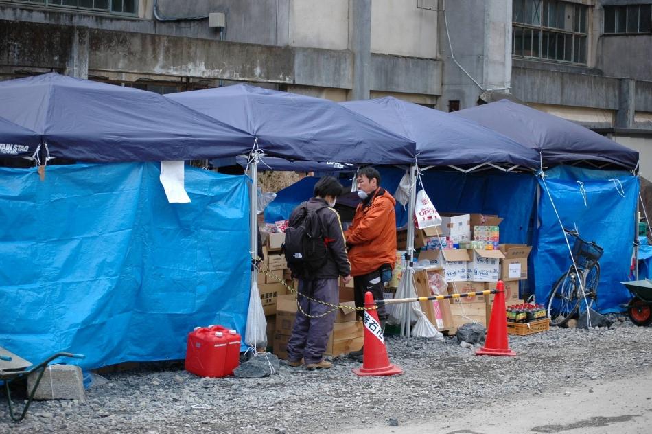 避難所の様子1