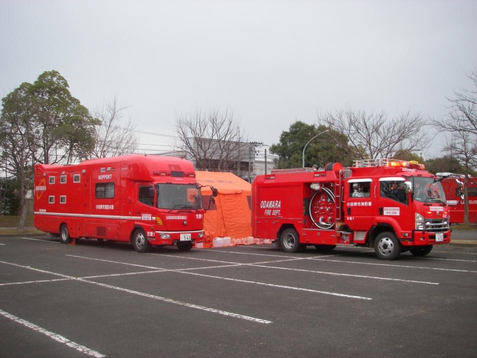 小田原市 | 小田原市消防本部から派遣された緊急消防援助隊の活動