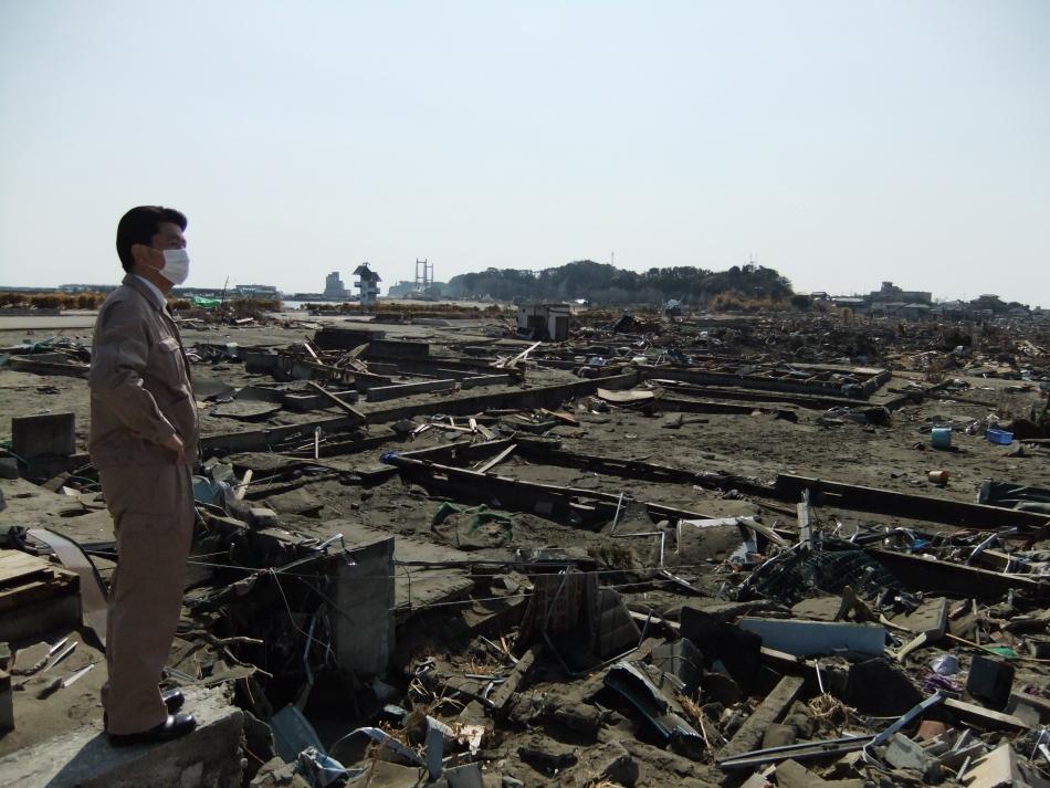 原釜地区 住宅地が建てこんでたであろう地域