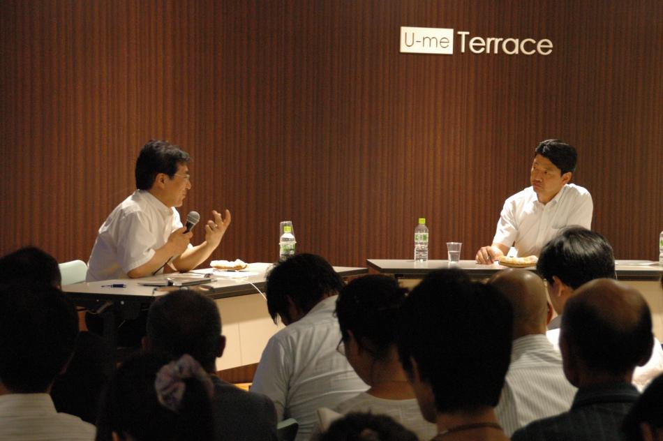 飯田哲也氏と加藤市長との公開アドバイザリー