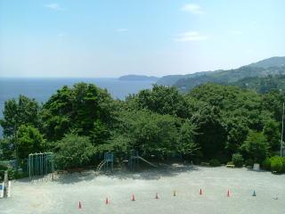 片浦小学校風景