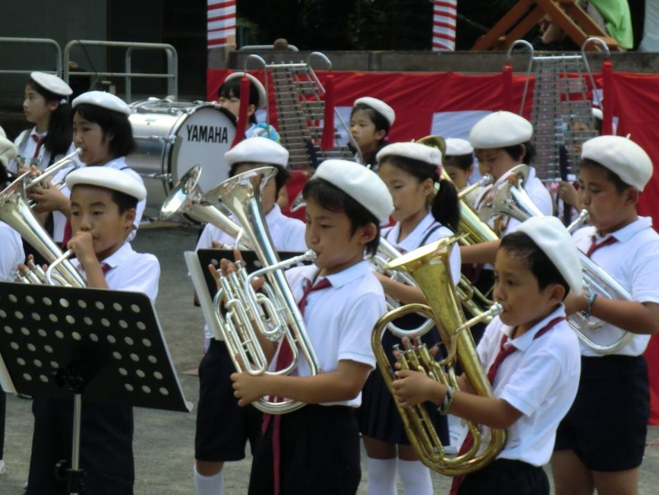 片浦小 金管バンド