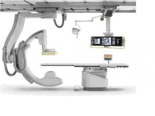 当院で使用している血管撮影装置(同型機)